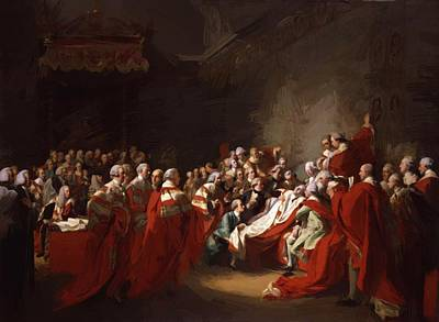 Painting - The Death Of The Earl Of Chatham by Copley John Singleton
