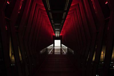 Photograph - The Death Star Hallway by Alexis Terrosa