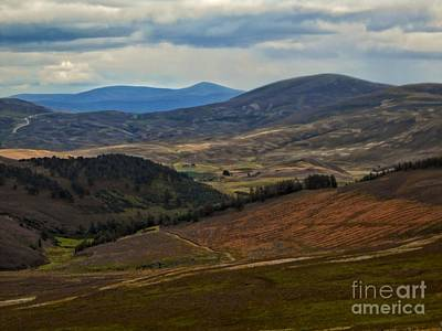 Photograph - The Dee Valley Of The Scottish Highlands by Joan-Violet Stretch