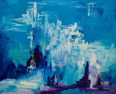 Painting - The Deep 2008 by Gabi Dziok-Grubb