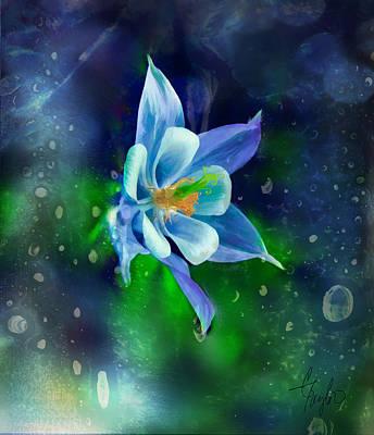 The Deep Blue Art Print