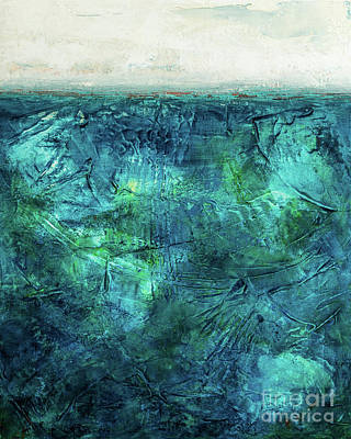Painting - The Deep Blue Sea by Susan Cole Kelly Impressions