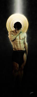 Fine Art Nude Digital Art - The Deep Regret by Joaquin Abella