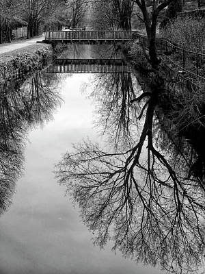 Photograph - The Delaware And Raritan Canal by Dave Mills