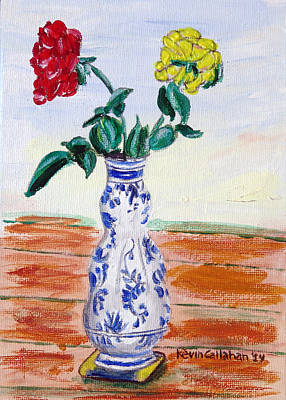 Painting - The Delft Vase by Kevin Callahan