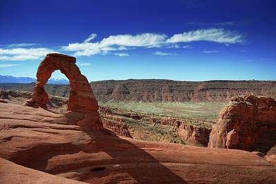 Photograph - The Delicate Arch by Renee Hardison
