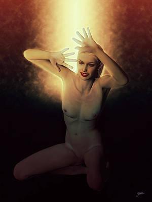 Digital Art - The Delirium Of Candelaria by Joaquin Abella