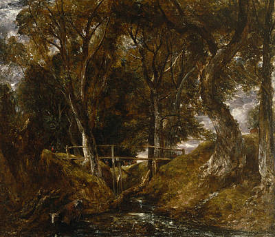 Painting - The Dell At Helmingham Park by John Constable
