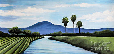 Painting - The Delta by Elizabeth Robinette Tyndall