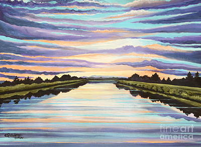 The Delta Experience Art Print by Elizabeth Robinette Tyndall