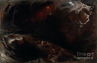 The Deluge Painting - The Deluge by Celestial Images