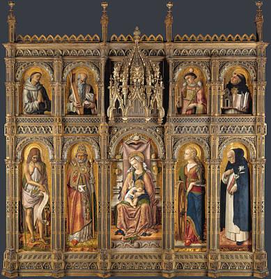 The Demidoff Altarpiece Art Print