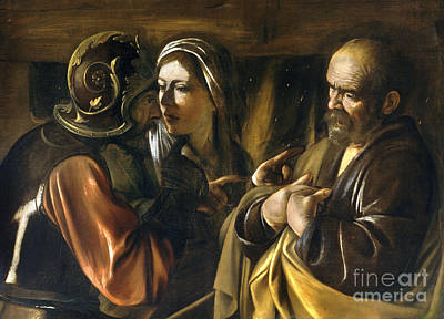 The Denial Of Saint Peter Art Print by MotionAge Designs