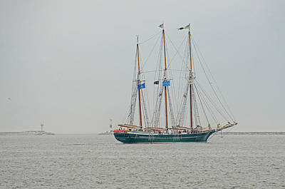Photograph - The Denis Sullivan Schooner by Susan  McMenamin