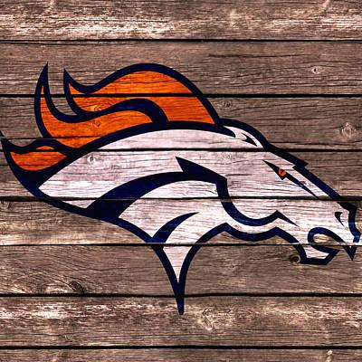 The Denver Broncos 4d Art Print