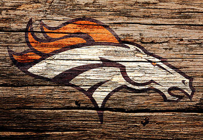 Espn Mixed Media - The Denver Broncos 8a by Brian Reaves