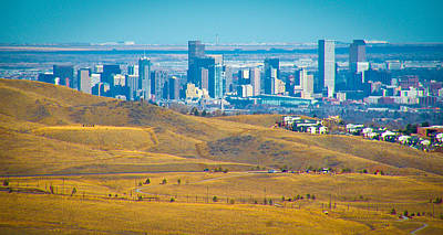 Photograph - The Denver Skyline II by David Patterson