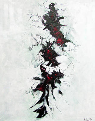 Painting - The Depths Within  by Catherine Link