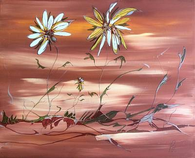 Painting - The Desert Garden by Pat Purdy