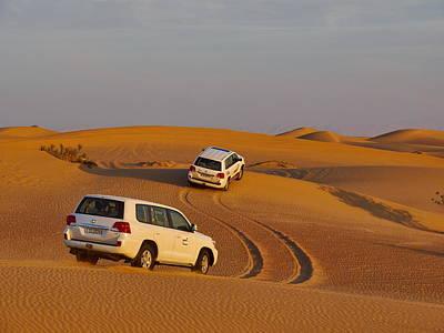 Photograph - The Desert Jeep Safari by Jouko Lehto