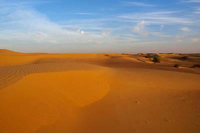 Jouko Lehto Royalty-Free and Rights-Managed Images - The Desert  by Jouko Lehto