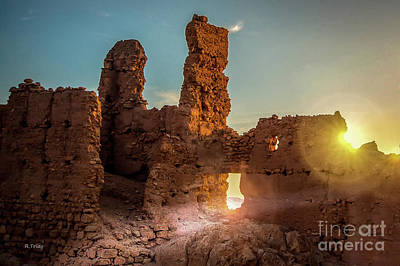 Photograph - The Desert Light Of Hope by Rene Triay Photography