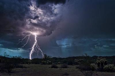 Photograph - The Desert Monsoons by Saija Lehtonen