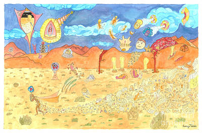 Archetype Painting - The Desert by NeuronDiva Studios