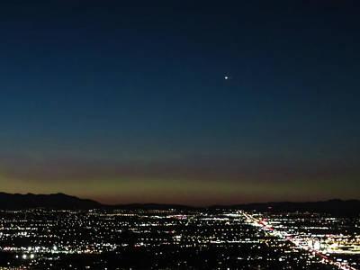 Photograph - The Desert Star by Susan Molnar