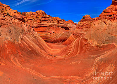 Photograph - The Desert Wave by Adam Jewell