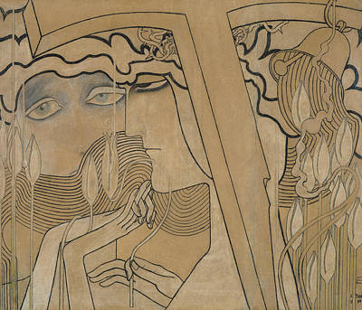 The Desire And The Satisfaction Print by Jan Theodore Toorop