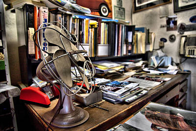 Photograph - The Desk by CA  Johnson