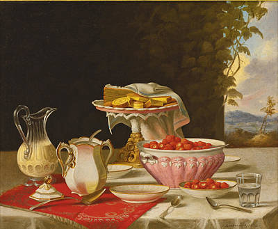Painting - The Dessert by John F Francis
