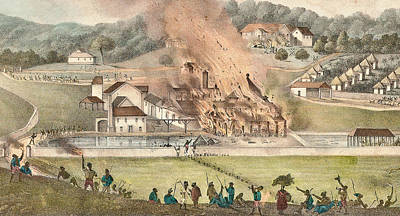 The Destruction Of The Roehampton Estate Art Print