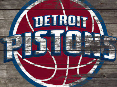 The Detroit Pistons 4f         Art Print by Brian Reaves