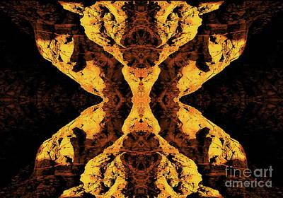 H.r. Giger Digital Art - The Devil by Tim Richards