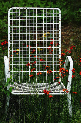 The Devils Chair Art Print by Debbie Oppermann
