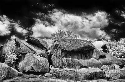 The Devils Den Print by Paul W Faust - Impressions of Light