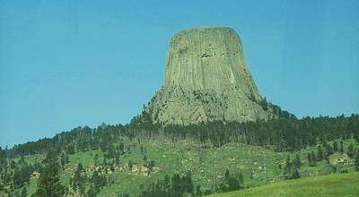 The Devils Tower Art Print