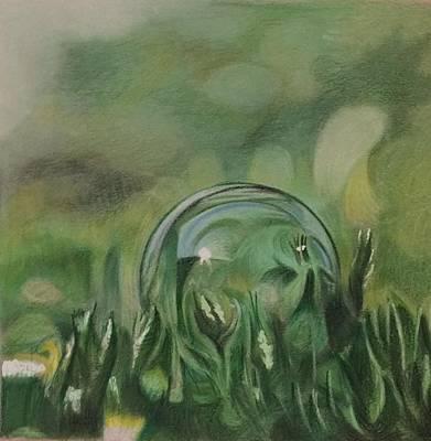 The Dew Drop Art Print