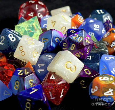 Photograph - The Dice by Liz Masoner