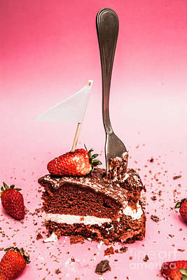 Yummy Photograph - The Diet Breakup by Jorgo Photography - Wall Art Gallery