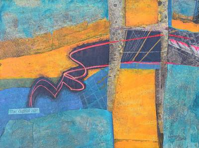 Mixed Media - The Digital Age by Nancy Jolley