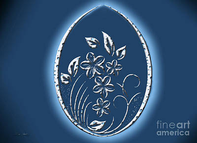 Digital Art - The Digital Egg by Melissa Messick