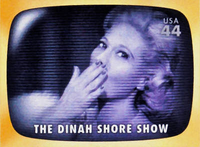 Broadcast Painting - The Dinah Shore Show by Lanjee Chee
