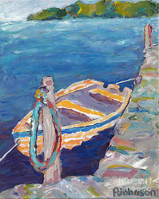 The Dinghy Original by Peggy Johnson