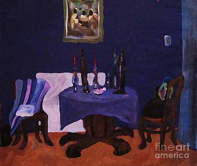 Painting - The Dining Room by Reb Frost