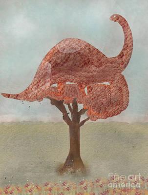 Painting - The Dinosaur Tree by Bri B