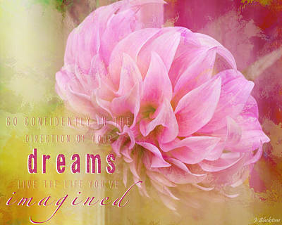 Photograph - The Direction Of Your Dreams - Image Art by Jordan Blackstone