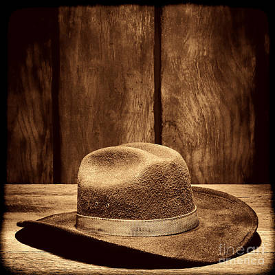 Photograph - The Dirty Brown Hat by American West Legend By Olivier Le Queinec